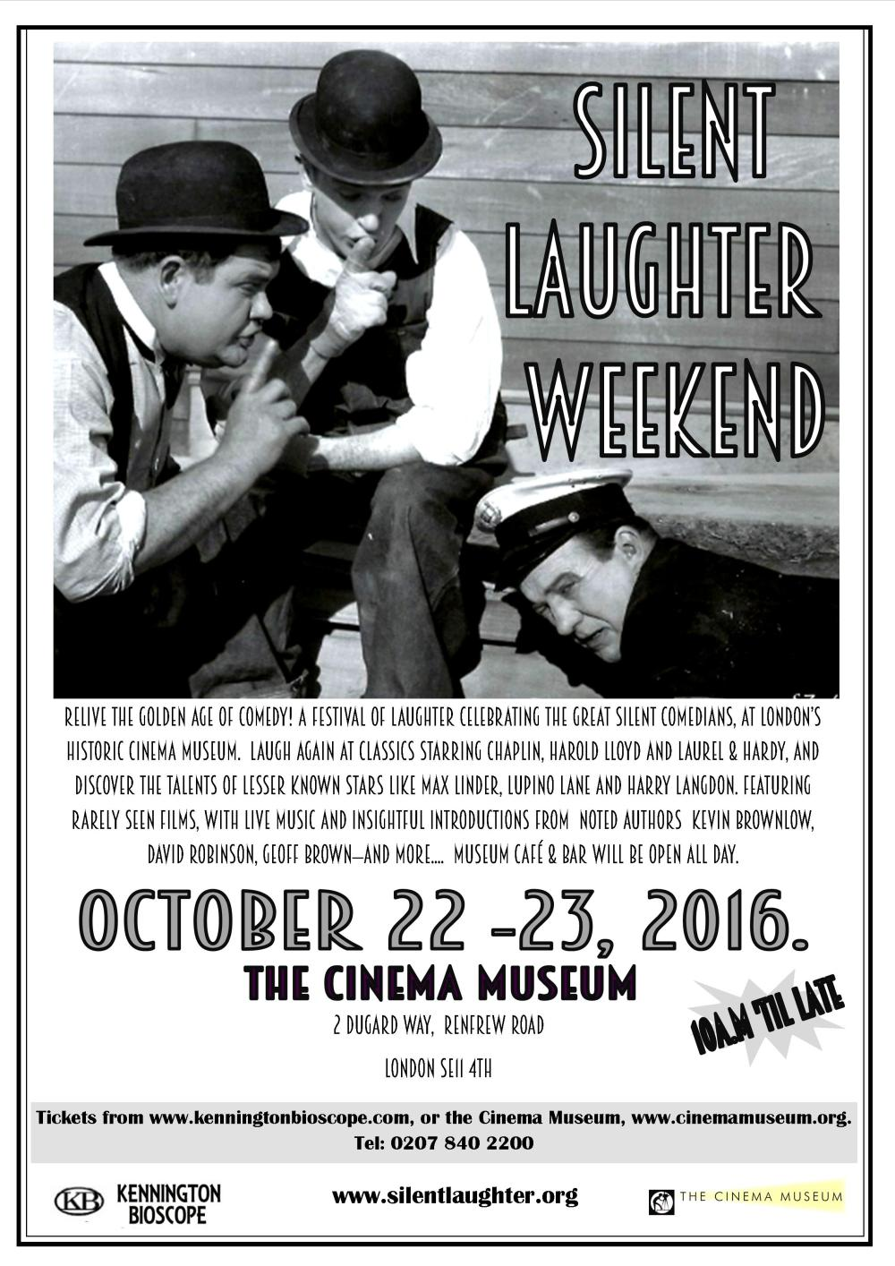 Silent Laughter Weekend